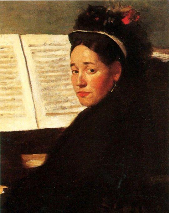 Мадмуазель didau за фортепиано (1869-1872)