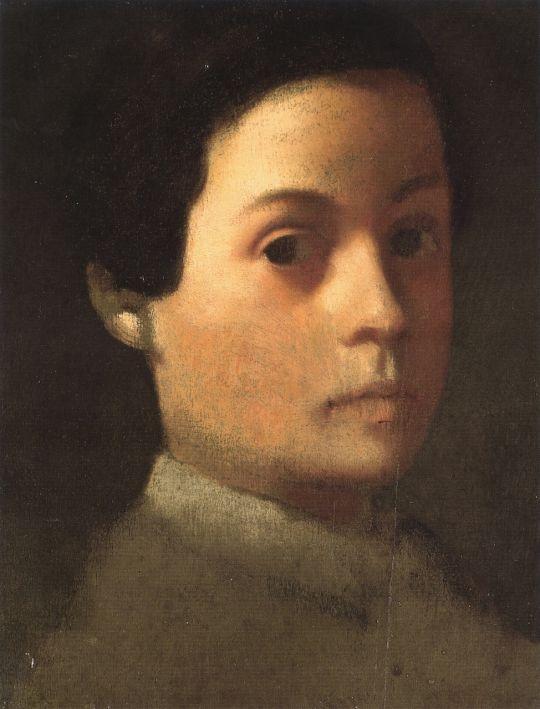 Портрет младшего брата художника Рене де Га (ок.1855) (29.1 х 22.5) (частная коллекция)