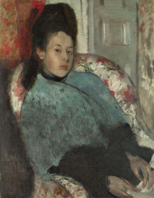 Портрет Елены Карафа (1873-1874) (Лондон, Национальная галерея)