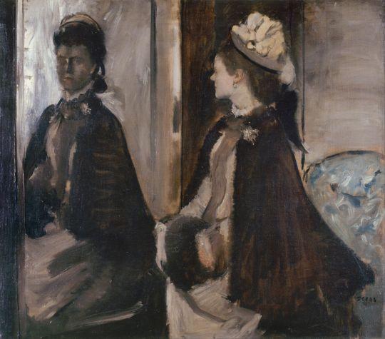 Мадам Jeantaud перед зеркалом (ок.1875) (70 х 84) (Париж, музей Орсэ)