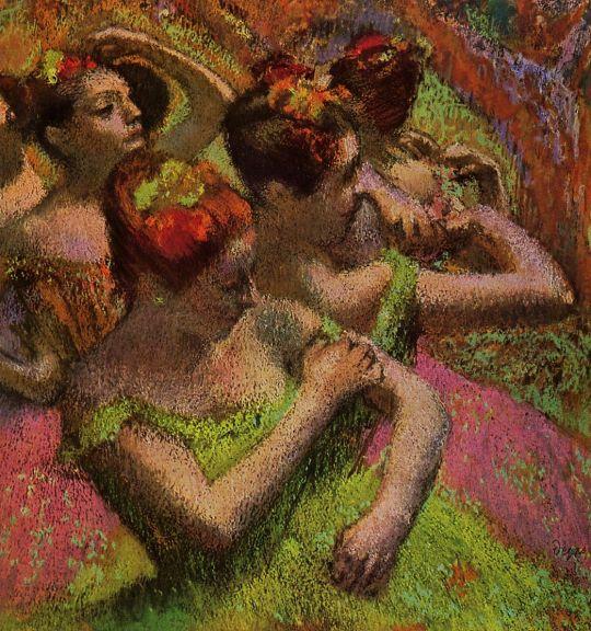 Балерины на репетиции (1879)