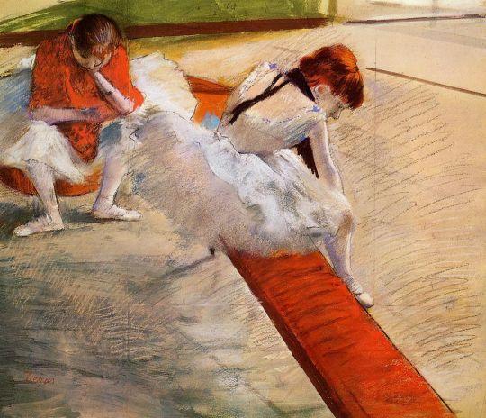 Танцовщицы на отдыхе (1879) (Бостон, Музей изящ.искусств)