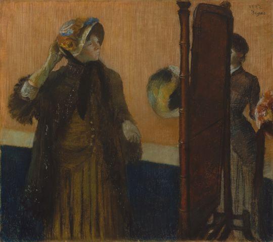 У модистки (1882) (76.2 х 86.4) (Нью-Йорк, Метрополитен)