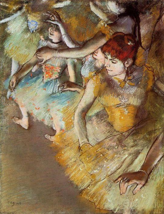 Балет на сцене (1883) (24.5 х 18.5) (Даллас, Музей искусства)