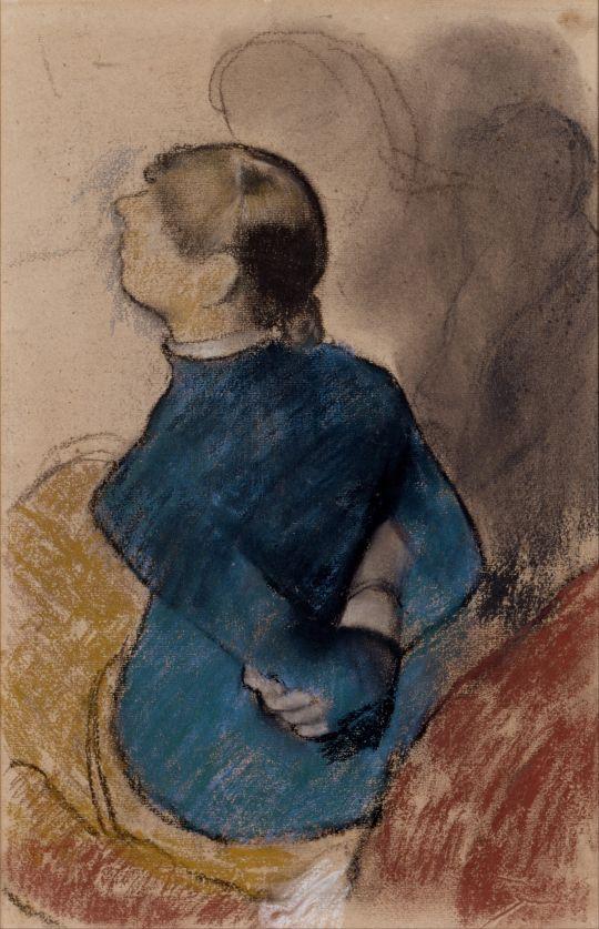 Молодая женщина в голубом (ок.1884) (Индианополис, Музей искусства)