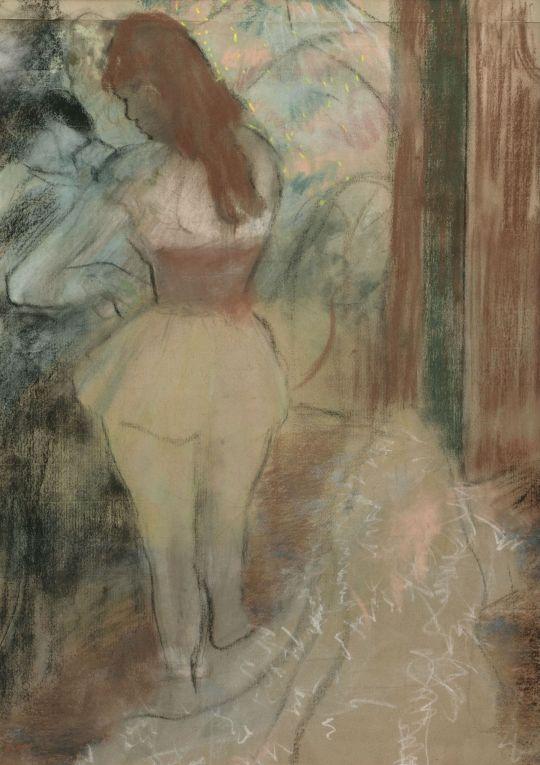 Одевание танцовщицы (1889) (частная коллекция)