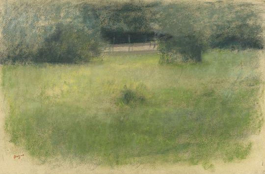 Трава и подлесок (1890-1893) (частная коллекция)