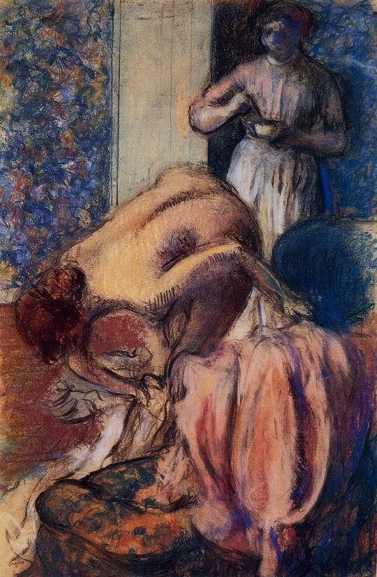 Завтрак после купания (1894) (частная коллекция)