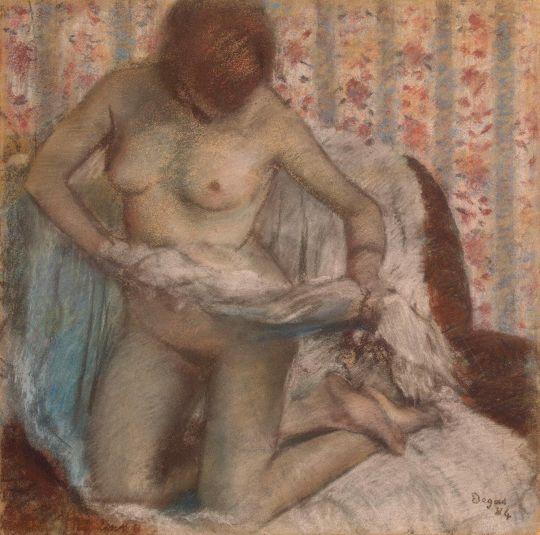Женщина за туалетом (1895) (50 х 50) (С-Петербург, Эрмитаж)