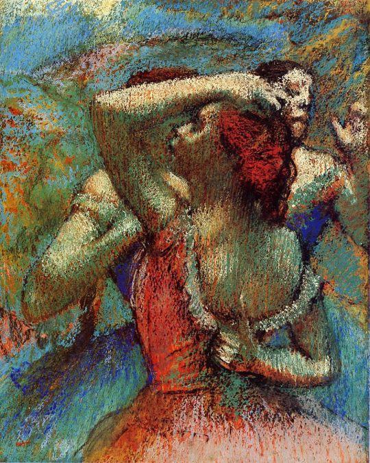 Танцовщицы (1900) (Музей искусств Принстонского университета)