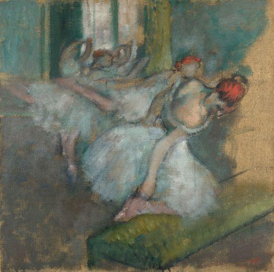 Балерины (1890-1900) (Лондон, Нац. галерея)