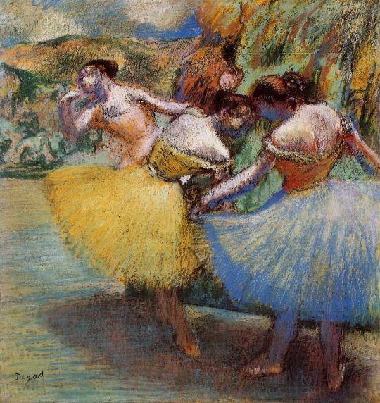 Три танцовщицы (1897-1901) (Дания, коллекция Ordrupgaard)