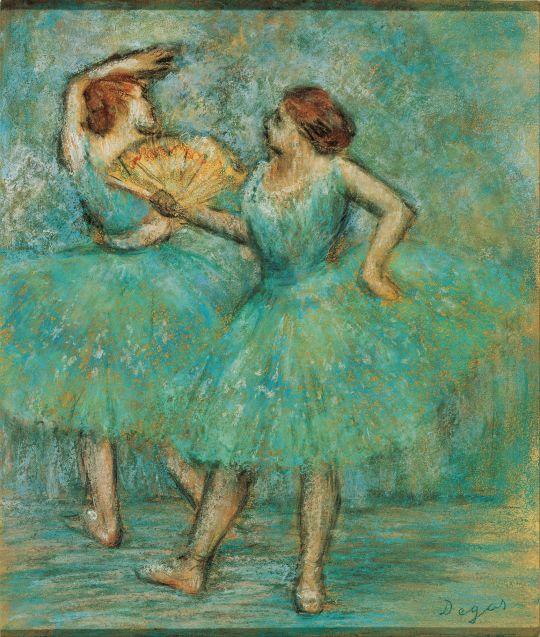 Две танцовщицы (ок.1905) (Вена, Альбертина)
