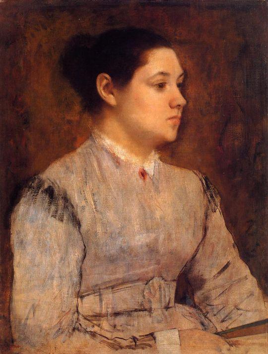 Портрет молодой женщины (1864-1865) (частная коллекция)