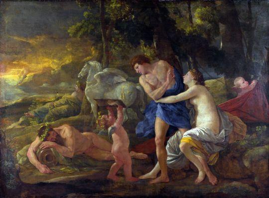 Аврора и Кефал (ок.1630) (Лондон, Национальная галерея)