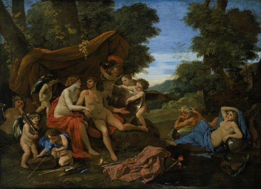 Венера и Марс (ок.1630) (145.9 х 213.7) (Бостон, Музей изящ.искусств)