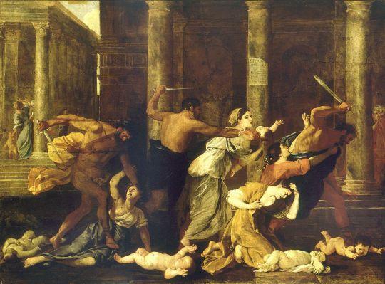 Избиение младенцев в Вифлееме (1625-1626) (980 x 1330) (Париж, Пти Пале)
