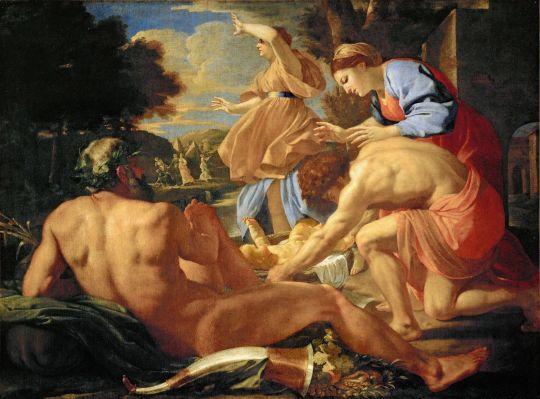 Нахождение Моисея (ок.1624) (145 х 196) (Дрезденская галерея)