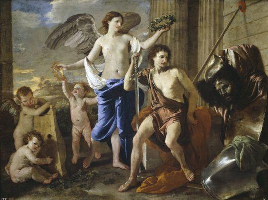 Триумф Давида (ок.1630) (100 х 130) (Мадрид, Прадо)