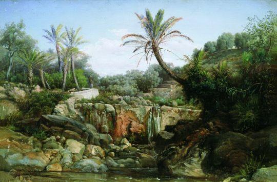 Восточный пейзаж