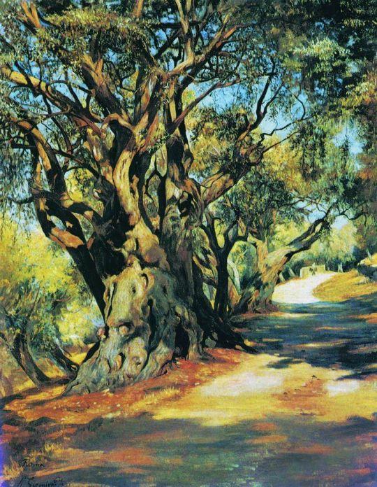 Дорога из Рима в Альбано. 1873