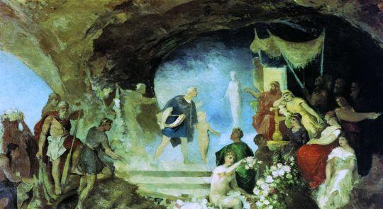 Орфей в подземном царстве. Конец 80-х
