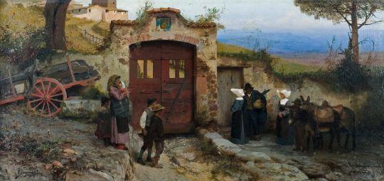 Приносящие комфорт и помощь. 1885