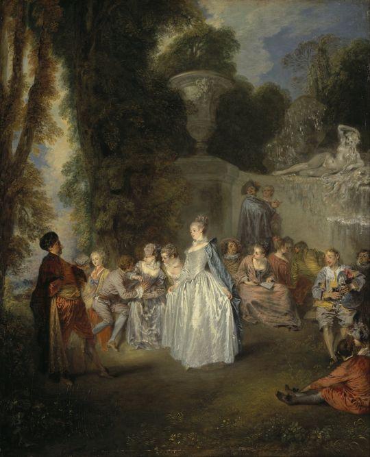 Венецианский фестиваль (1718-1719) (56 x 46) (Эдинбург, Нац. галерея Шотландии)