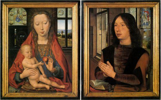 Диптих Мартина ван Ньювенховена (1487) (Брюгге, Музей Мемлинга)