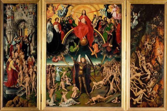 Триптих Страшный суд (1467-1470) (открыт) (Гданьск, Народный музей)