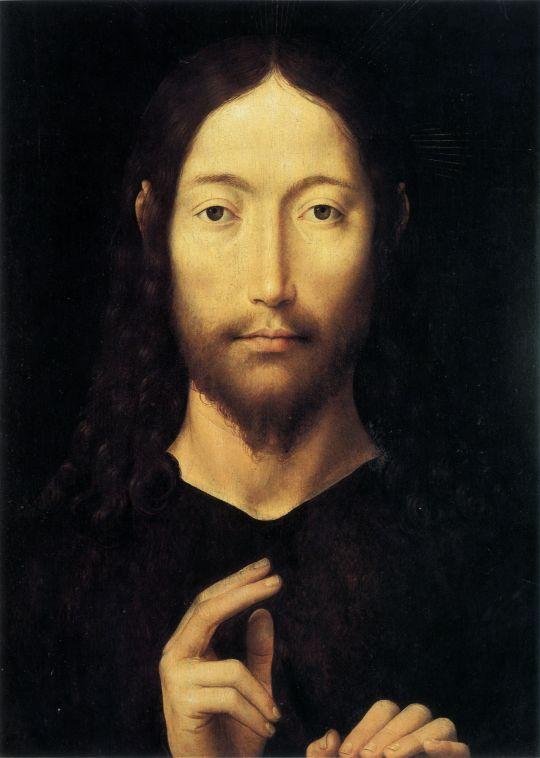 Христос благословляющий (1478) (38,1 x 28,2) (Пасадена, Музей Нортона Саймона)
