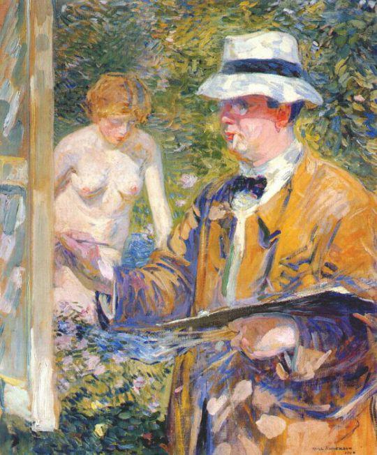 Портрет Фризеке 1910