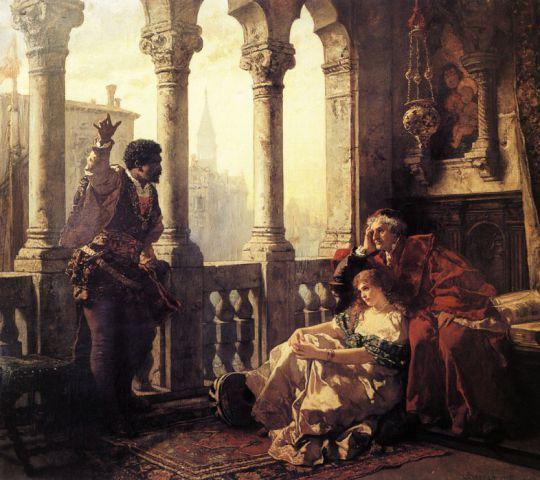 Отелло рассказывает Дездемоне о своих приключениях