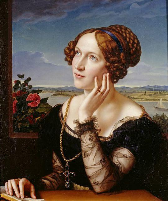 Вильгемина Бегас, жена художника