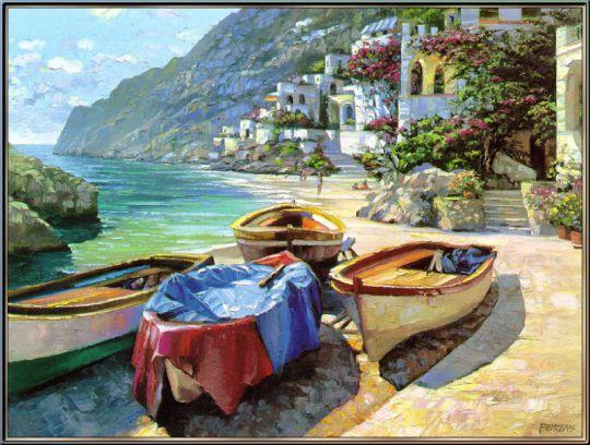 Лодки в Капри
