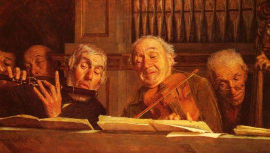 Пять музыкантов оркестра
