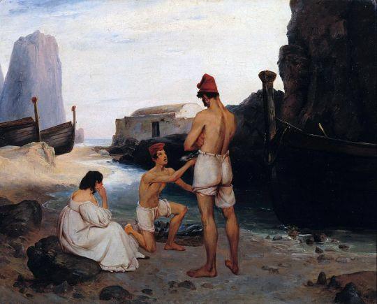 Рыбаки на Капри