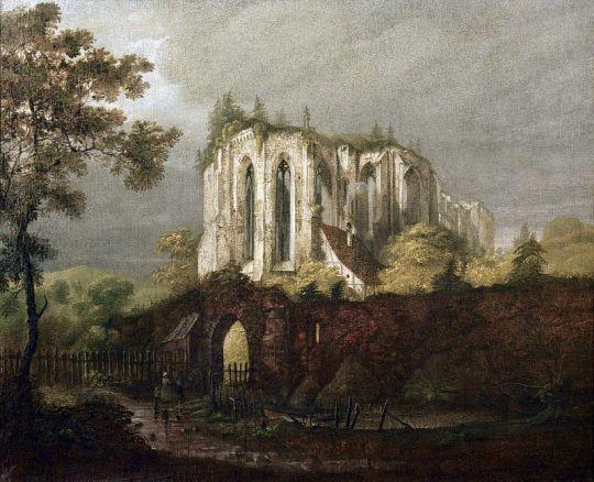 Руины монастыря Ойбин