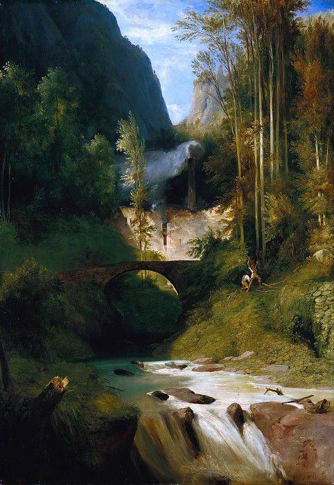 Ущелье в Амальфи
