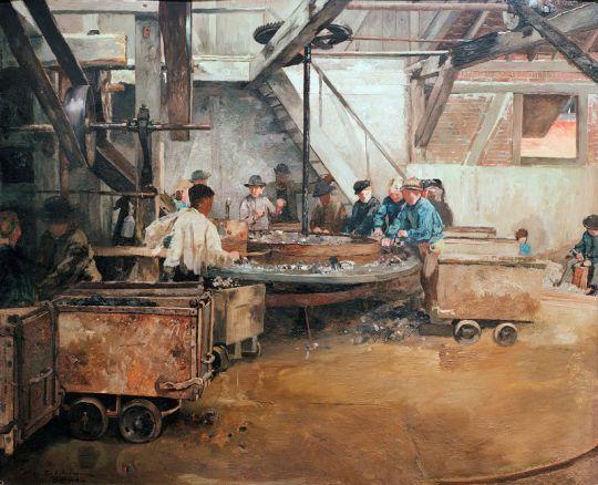 Свинцовый рудник в Зельбеке близ Кетвига