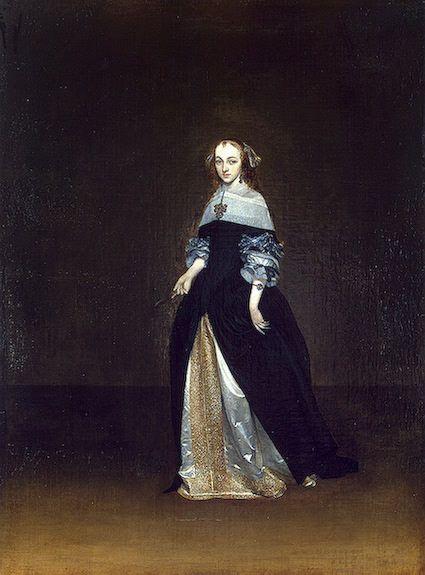 Портрет Катарины ван Лунинк, Отшельницы