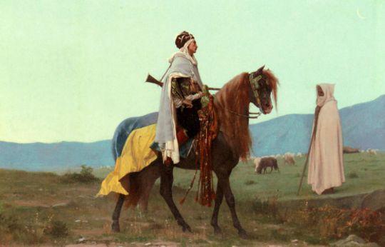 Арабский наездник