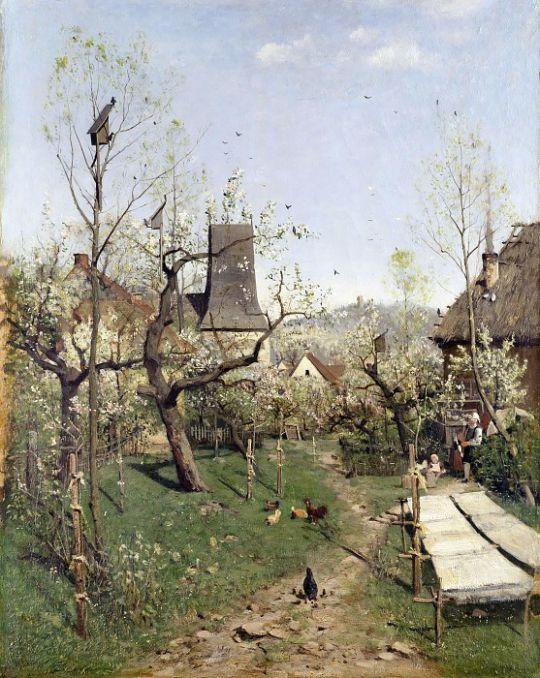 Весна в Обервеймаре