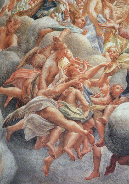 Успение Пресвятой Богородицы («Ангельские Музыканты» - фрагмент)