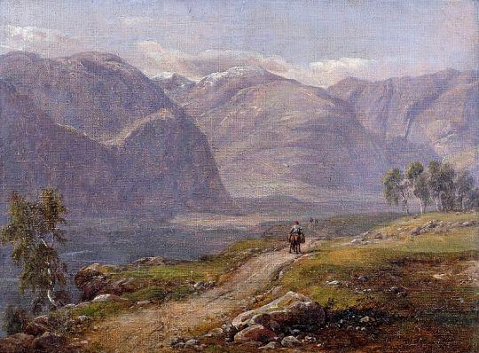 Горы близ Лердаля, Норвегия