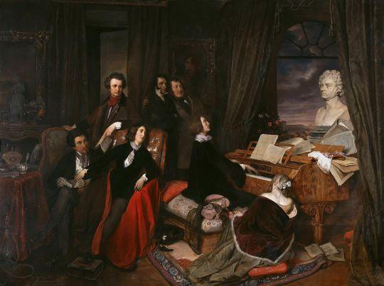 Импровизация на фортепиано Франца Листа
