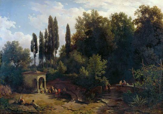 Часовня на римских холмах