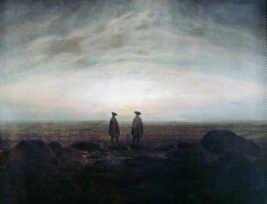 Двое мужчин у моря