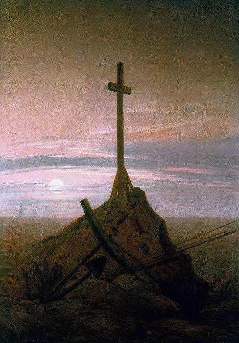 Крест на побережье Балтийского моря
