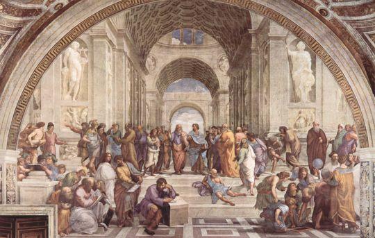 «Афинская школа», Рафаэль, 1509-11, Ватикан